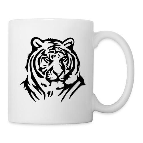 tasse tigre - Mug blanc