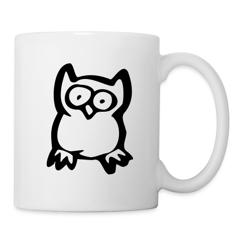 tasse chouette - Mug blanc