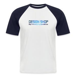 T-skjorte - Design Shop - Kortermet baseball skjorte for menn