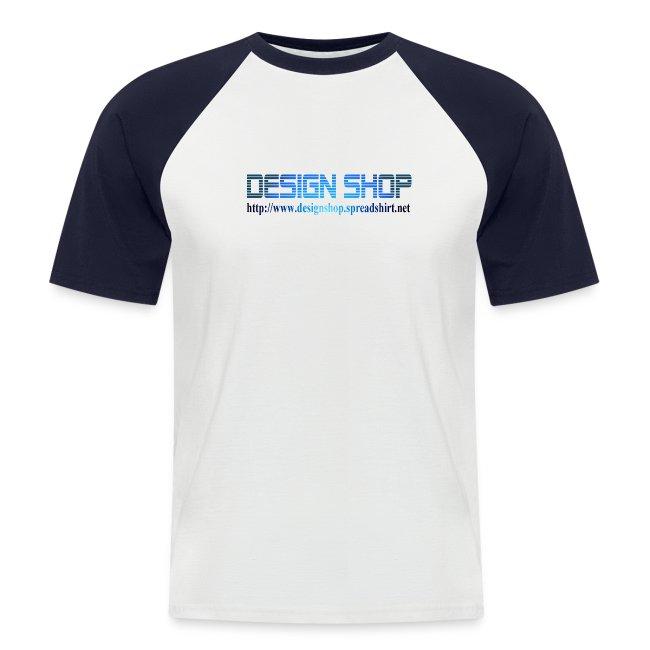 892d5631 designshop | T-skjorte - Design Shop - Kortermet baseball skjorte ...