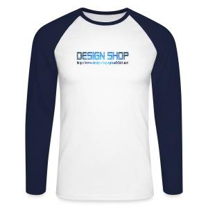 T-skjorte Langermet  - Design Shop - Langermet baseball-skjorte for menn