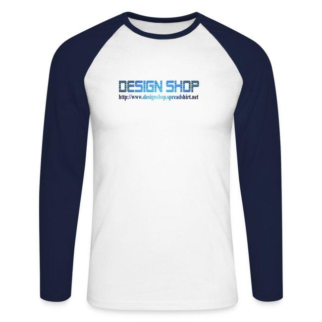 56d04e92 designshop | T-skjorte Langermet - Design Shop - Langermet baseball ...