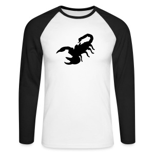 tee-shirt homme scorpion - T-shirt baseball manches longues Homme