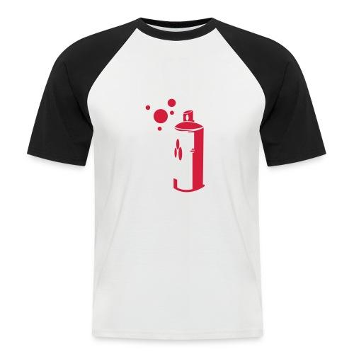 Camiseta Spray - Camiseta béisbol manga corta hombre