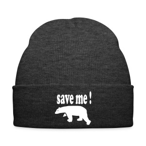 Save the Polar Bears Hat - Winter Hat