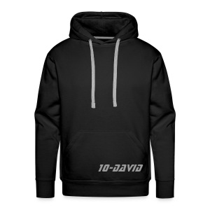 10-David Signature Hood - Men's Premium Hoodie