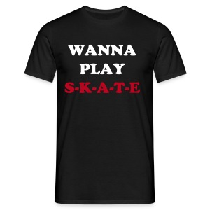 Shirt WANNA PLAY S-K-A-T-E WHITE - Männer T-Shirt