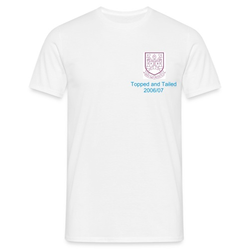 west ham fc top and tailed - Men's T-Shirt