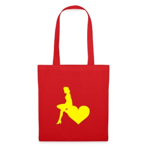 sac girl heart - Tote Bag