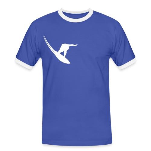 Surfer - Männer Kontrast-T-Shirt