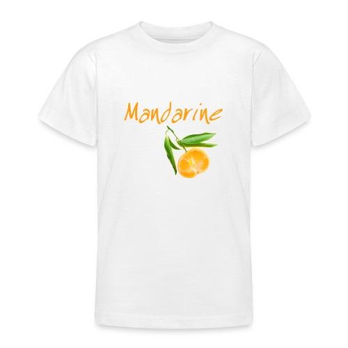 Kinder T-Shirt - Fruity / Mandarine - Teenager T-Shirt