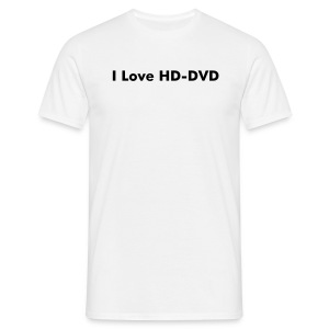 I Love HD-DVD - Men's T-Shirt