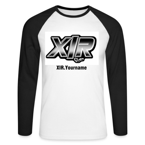 XIR Long Sleeve - Men's Long Sleeve Baseball T-Shirt