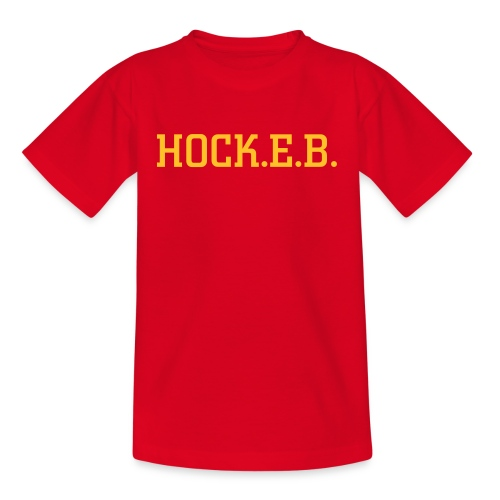 Unisex Kids HOCK.E.B. tee - Teenage T-Shirt