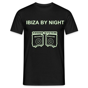 T-Shirt Ibiza By Night fluo - T-shirt Homme