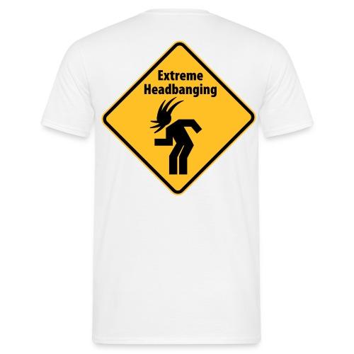 Headbanging. - Men's T-Shirt