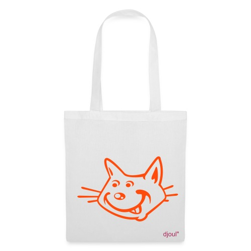 sac chat djoul - Tote Bag