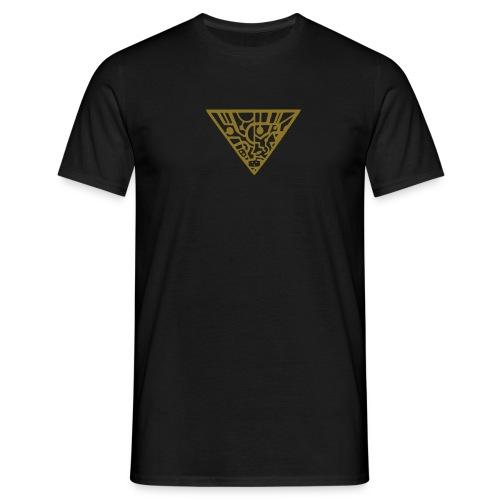 tripod gold - Männer T-Shirt