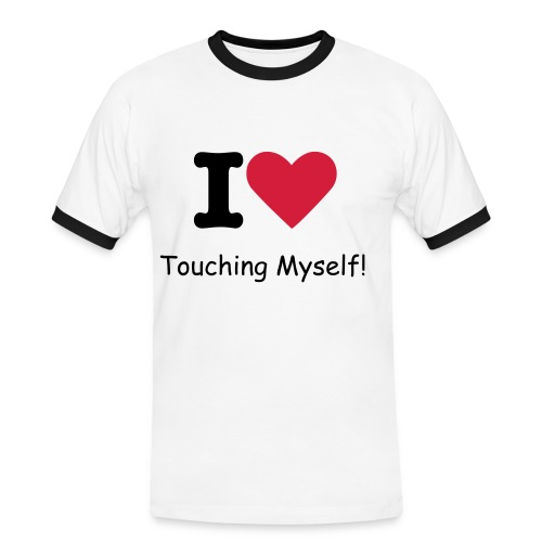 Touching Myself - Men's Ringer Shirt