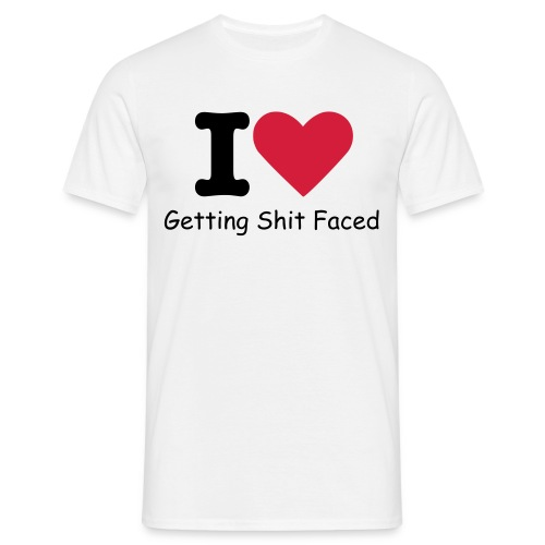 Shit Faced - Men's T-Shirt