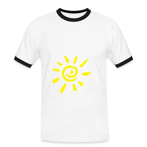 Soleil - T-shirt contrasté Homme