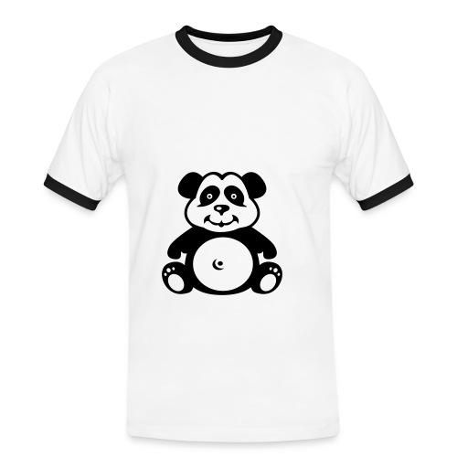 Panda - T-shirt contrasté Homme