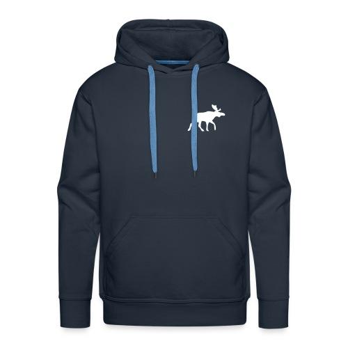 Elch - Sweatschirt - Männer Premium Hoodie