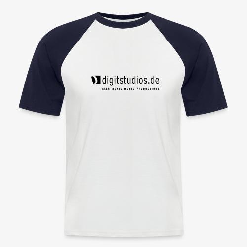 digitstudios.de silver/grey - Männer Baseball-T-Shirt