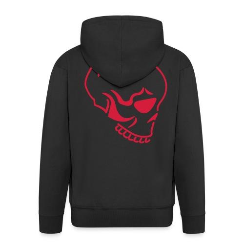 Skull - Miesten premium vetoketjullinen huppari