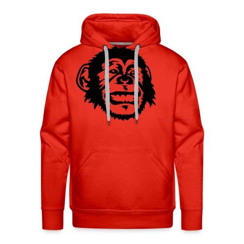 Red Basic Logo Hoodie - Men's Premium Hoodie