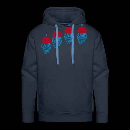 Buttons1: N·G Style - Men's Premium Hoodie