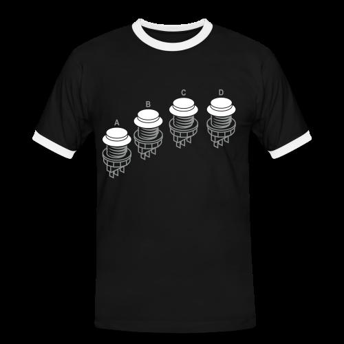 Buttons1: N·G Style - Men's Ringer Shirt