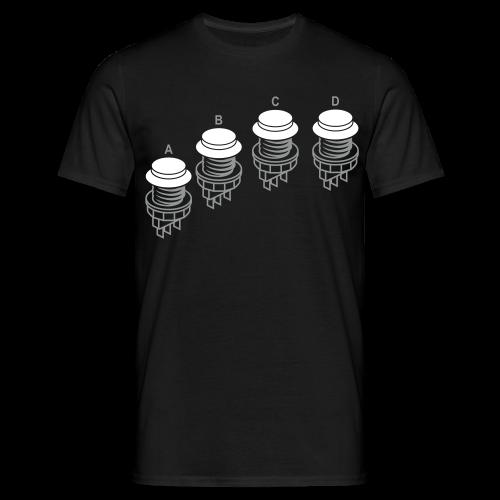 Buttons1: N·G Style - Men's T-Shirt