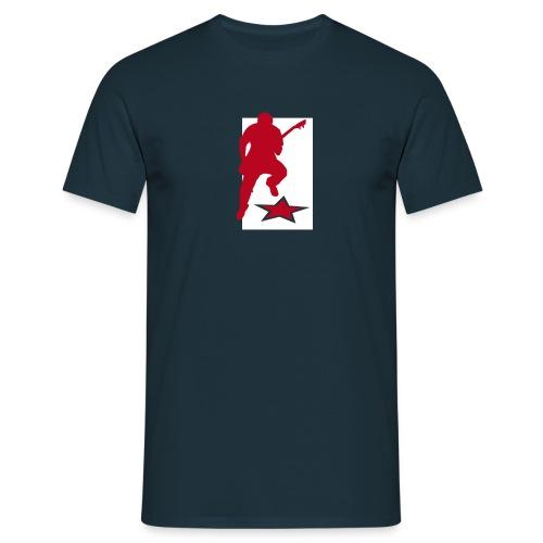 Motive-T-Shirt, Gitarrist - Männer T-Shirt