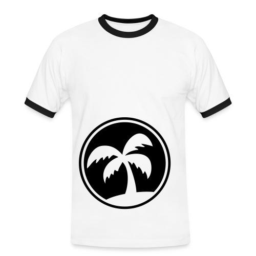 Ile - T-shirt contrasté Homme