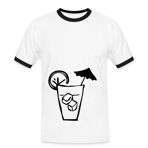 Mister Cocktail - T-shirt contrasté Homme