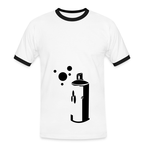 Three Tags - T-shirt contrasté Homme