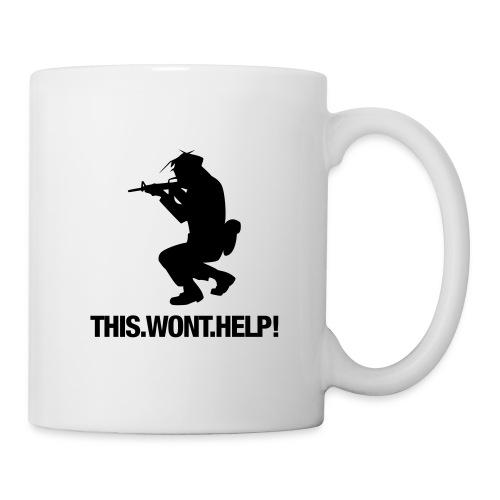 THIS WONT HELP - kahvikuppi - Muki