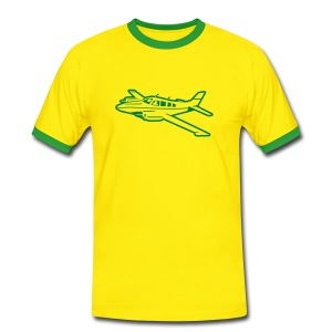 Yellow Contrast Tee - Men's Ringer Shirt