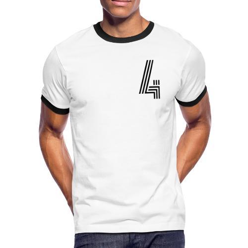AUSREICHEND 4 [deLuxe] - Männer Kontrast-T-Shirt