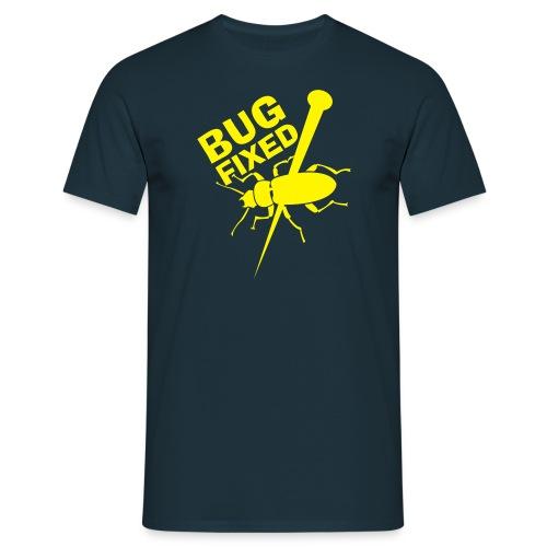 Bug Blue/Yellow - Männer T-Shirt