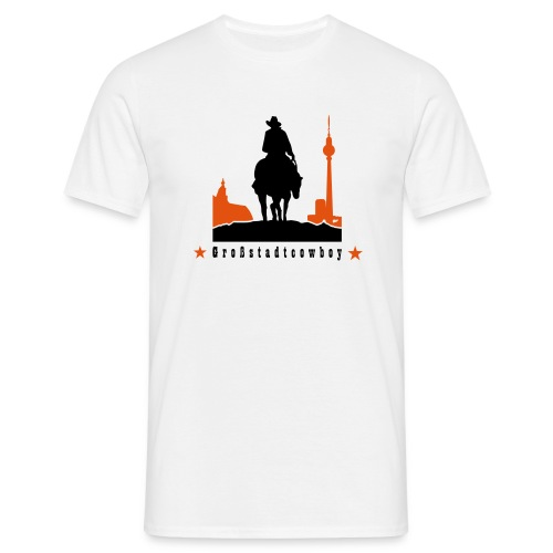 Grossstadt-Cowboy - Männer T-Shirt
