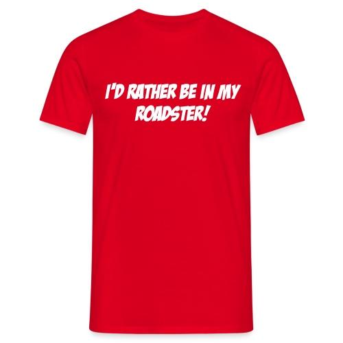 Be In Roadster Red Tee [BIR TEE] - Men's T-Shirt