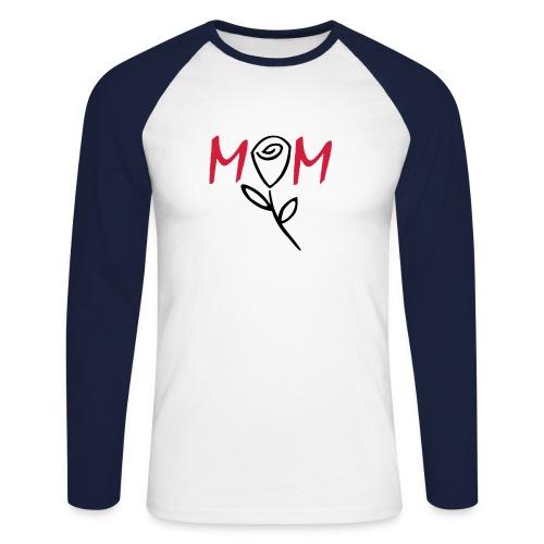 mothers day - Men's Long Sleeve Baseball T-Shirt