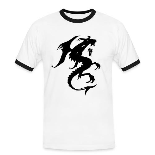 Nydelig T-shirt - Kontrast-T-skjorte for menn