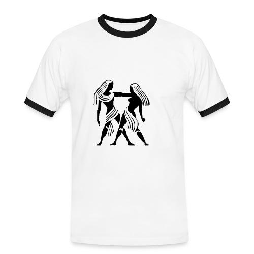 GEMEAUX - T-shirt contrasté Homme