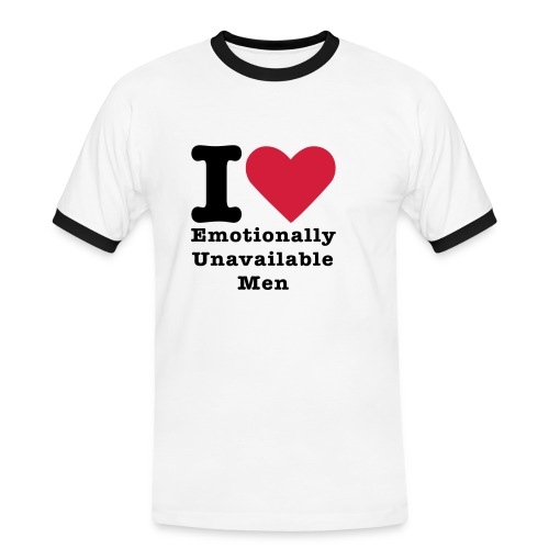LOVE MEN - T-shirt contrasté Homme