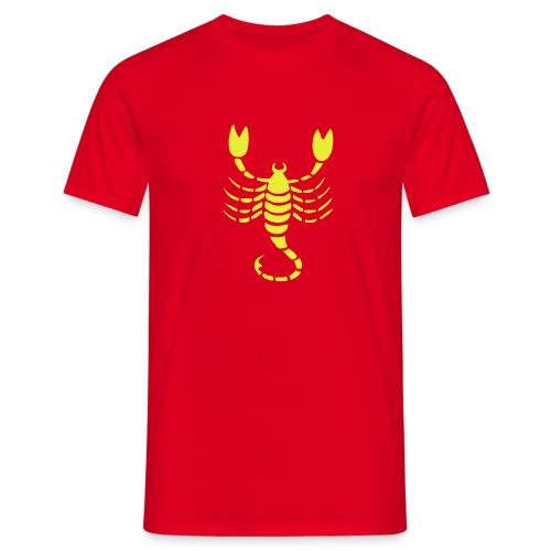 Skorpion - Männer T-Shirt