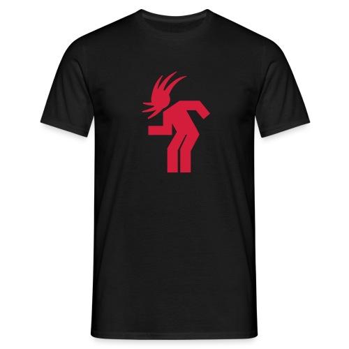 T-shirt H noir + logo - T-shirt Homme