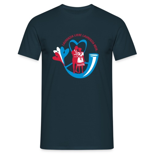 Laurenzia weit navy - Männer T-Shirt